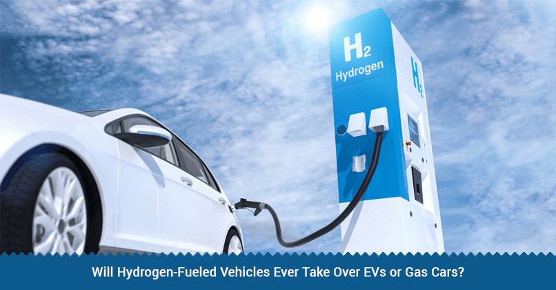 Hydrogen-Fueled Vs EVs or Gas Vehicles